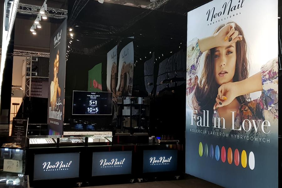 Stoisko targowe – NeoNail Targi Beauty Forum & Spa Warszawa 2018