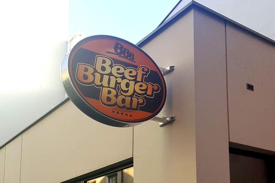 Aranżacja sklepowa – BeefBurgerBar Ostrów Wlkp.