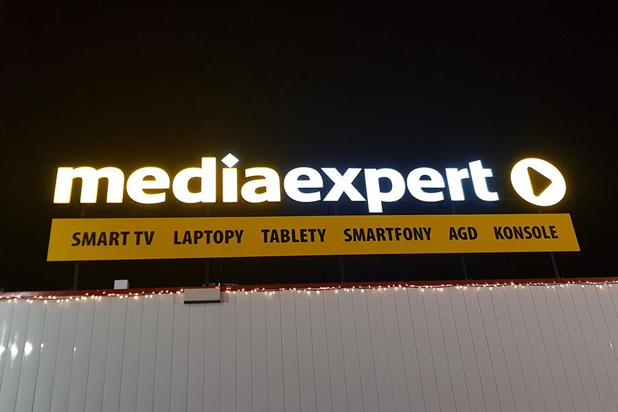 Portal wejściowy – Media Expert Galeria M1 Bytom