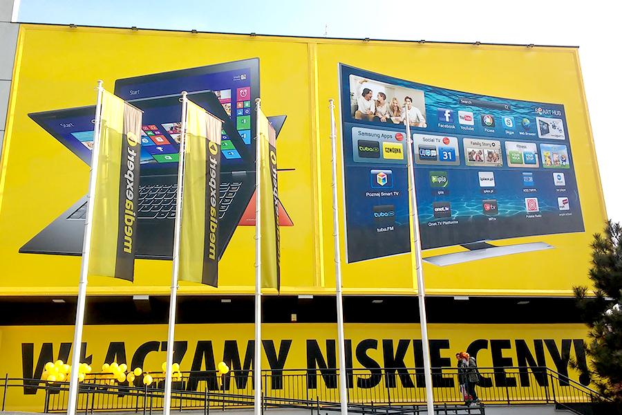 Reklamy zewnętrzne – Media Expert Krotoszyn