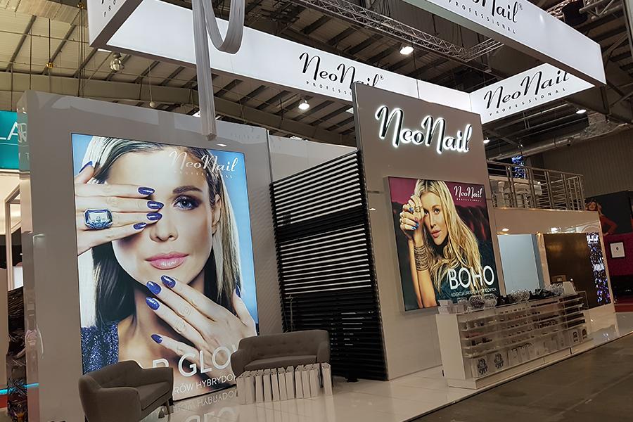 Stoisko targowe piętrowe – NeoNail Targi Beauty Forum & Spa Warszawa 2017