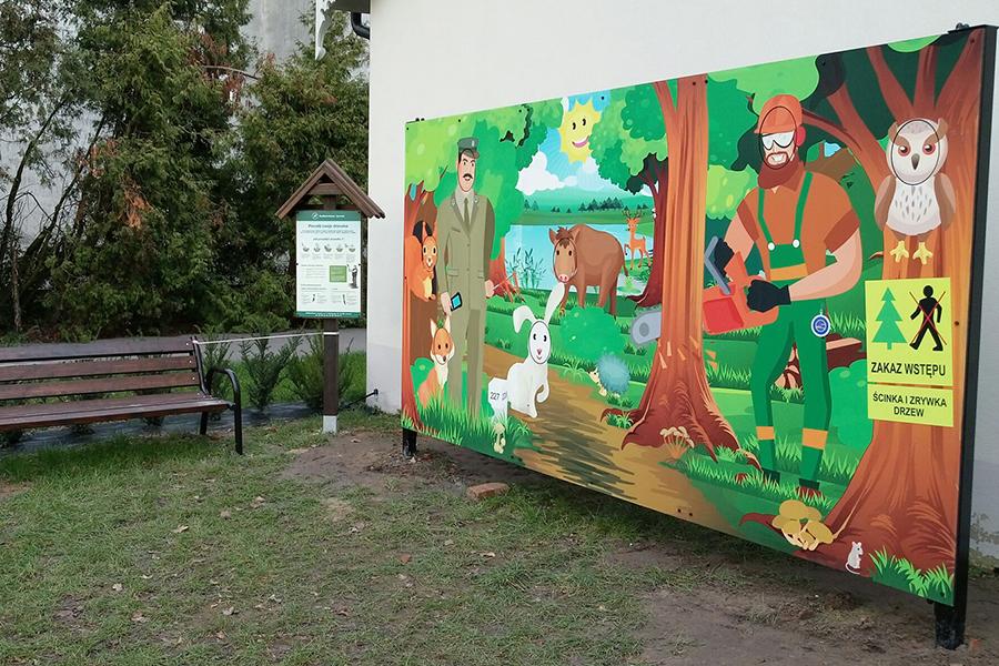 Ścieżka edukacyjna z fotościankami – OEL Czeszewo