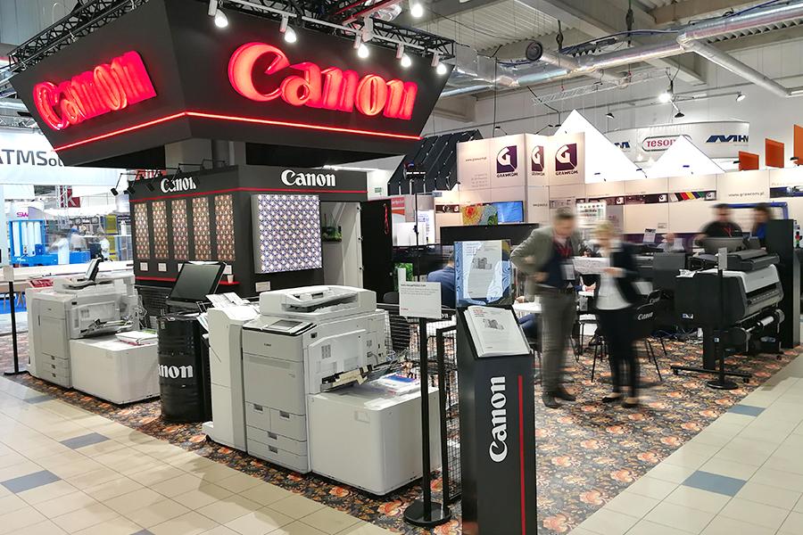 Stoisko targowe dla firmy Canon – Rema Days Warsaw 2020