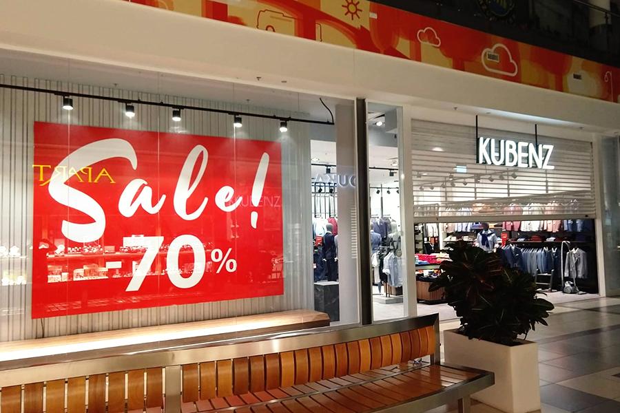 Litery przestrzenne, backlight'y dla marki Kubenz w Nova Park Gorzów Wlkp.